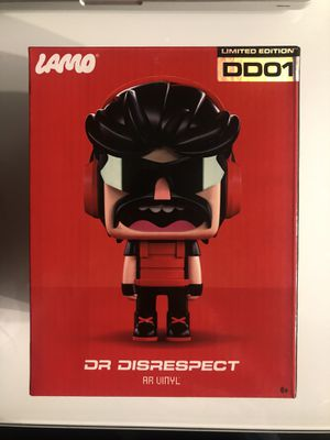 Limited Edition DD01 Dr Disrespect AR Vinyl for Sale in Wenatchee, WA