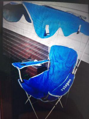 Heavy duty folding chair with canopy top for Sale in Oak Lawn, IL