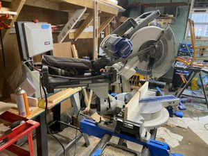 "Kobalt 12"" double bevel sliding miter saw for Sale in Carthage, MO"