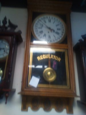 Antique key wound clock very nice shape works well has key $150 for Sale in Holiday, FL