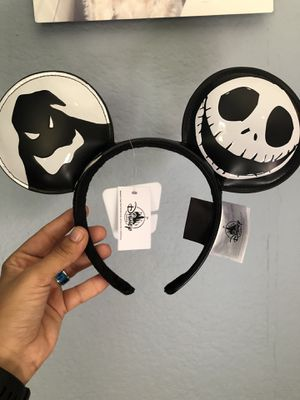 Nightmare before Christmas Oggie Boogie/Jack/Zero Ears for Sale in Santa Ana, CA