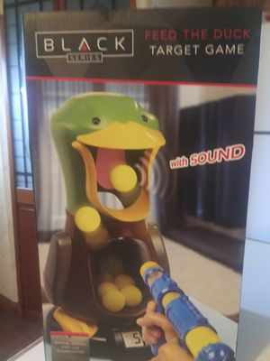 BLACK SERIES ! FEED THE DUCK TARGET GAME ! NEW ! for Sale in Philadelphia, PA