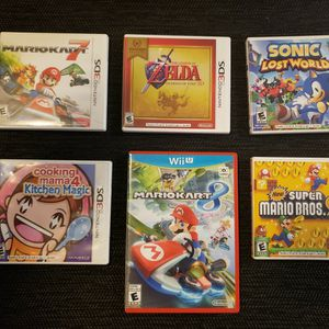 3DS LOT WITH MK8 AS WELL for Sale in Phoenix, AZ