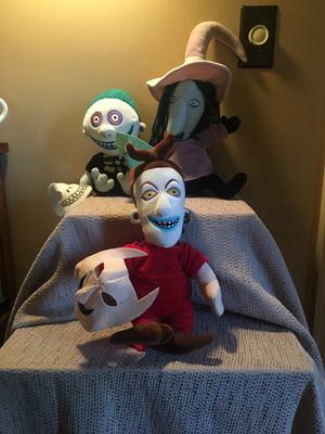Disney Plush Nightmare Before Christmas Stock, Lock & Barrel for Sale in Pittsburgh, PA