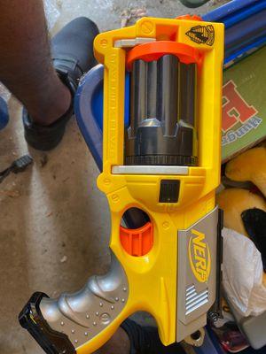 Nerf N-Strike Maverick Rev-6 Revolver gun for Sale in Garland, TX