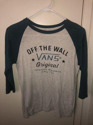 Vans Baseball Tee Raglan Shirt for Sale in Walnut, CA
