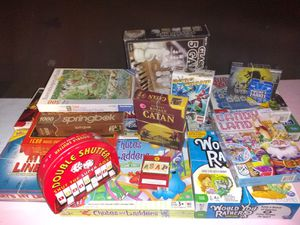 Game and puzzle lot for Sale in Tucson, AZ
