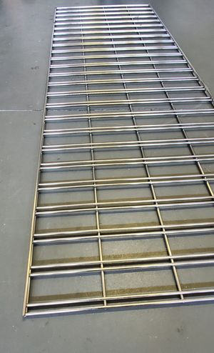 Metal Shelves sheets - Commercial Grade Quality! Shelving Stainless Steel Panels GridWall Panels - Multi-Use Size 6Feet x 2 Feet DISPLAY for Sale in Alafaya, FL