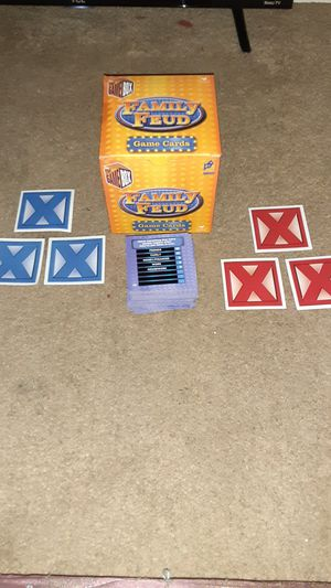 Family Feud Card Game for Sale in Stockton, CA