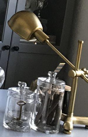 Ralph Lauren Task Desk Lamp, Brass for Sale in Irvine, CA