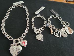 Gift Item- Guess- Necklace and 2Bracelets for Sale in Las Vegas, NV