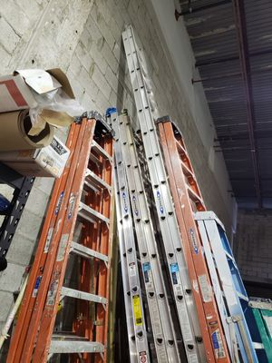 Ladders for sale: 32 ft, 24ft, and 14/12ft for Sale in Miami, FL