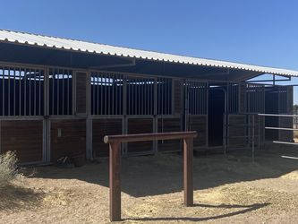 Four Stall Shed Row Barn for Sale in Phelan,  CA