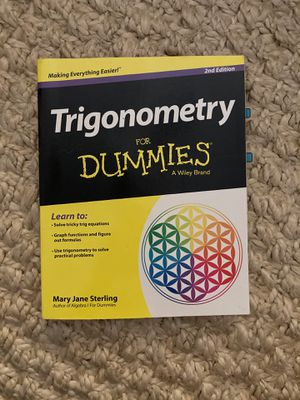 Trigonometry for Dummies book 2nd Edition for Sale in Long Beach, CA