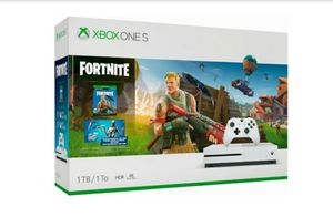 Xbox One S Fortnite Bundle 1 TB Brand New for Sale in Las Vegas, NV