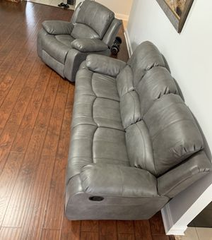 Sofa and Recliner for Sale in Pensacola, FL