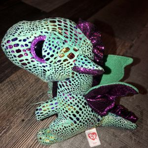 """Gently Used Ty Beanie Boos 6"""" Cinder The Dragon for Sale in Pinellas Park, FL"""