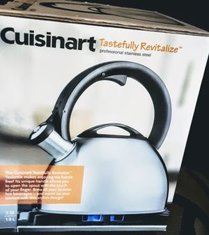 CUISANART stainless steel kettle- Brand New! for Sale in Independence, KS