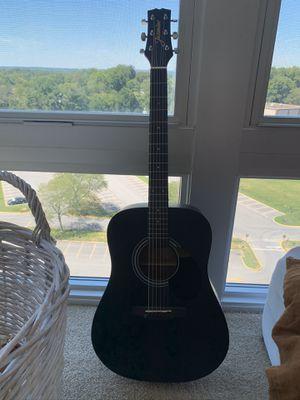 MUST GO! Matte black acoustic guitar for Sale in Washington, DC