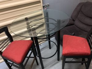 Bar table and 2 bar stools for Sale in Hermitage, TN