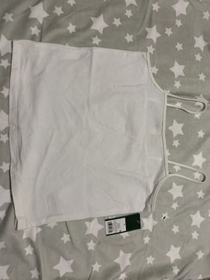 NWT White crop top for Sale in Portage, MI