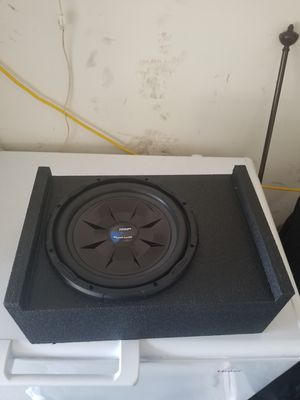 12 inch speaker & pro-box for Sale in Houston, TX