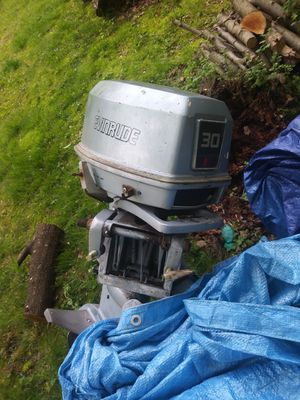 30 horse evinrude outboard boat motor for Sale in Weymouth, MA