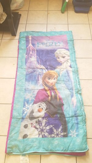 Frozen camping sleeping bag for Sale in Chicago, IL