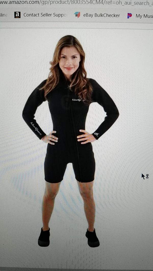New Neo Sport Ladies Shorty Wet Suit Step-In 3mm Size 14