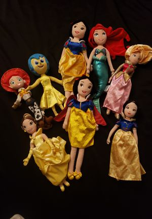 Disney Plush Mixed Dolls for Sale in Capitol Heights, MD