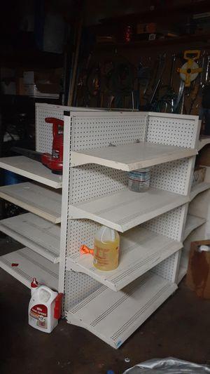 Metal shelves 4 sides for Sale in Las Vegas, NV