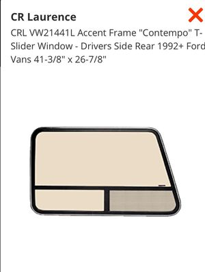 Car window- van window- sliding -ford or GM for Sale in Bend, OR