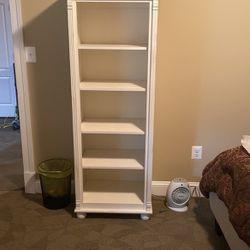 White Wooden Bookshelf for Sale in Washington,  DC