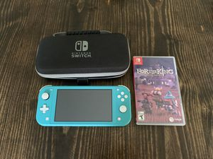 Nintendo Switch Lite, case, and 1 game Like New for Sale in Belton, SC