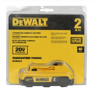DeWalt brand new 20-Volt Max 2-Amp-Hours Power Tool Battery for Sale in Miami, FL