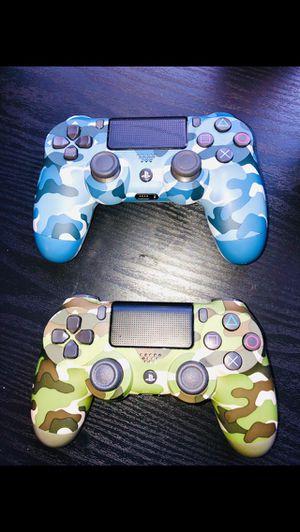 2 DualShock 4 PS4 controllers (bonus games) for Sale in Irvine, CA