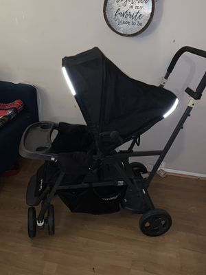 Double stroller for baby and toddler for Sale in Brooklyn, NY