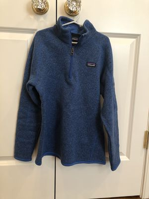 Patagonia half zip Sweater - Girls size 12 - royal blue for Sale in New Canaan, CT