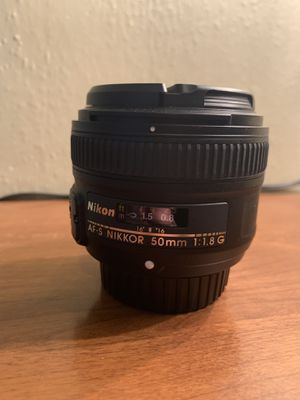 Nikon 50mm 1.8 lens for Sale in Vancouver, WA