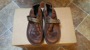 $150 brand new unworn men's brown Chaco woven leather sandals size 10.5 EUR 43.5 for Sale in San Jose, CA