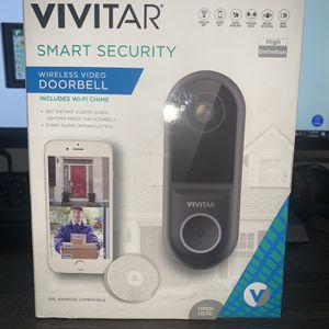 Vivitar Security camera and door bell for Sale in Dearborn, MI