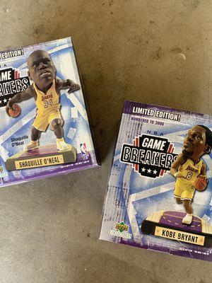 Kobe & Shaq Upper Deck Gamebreaker Statues for Sale in Lakewood, CA