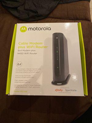 Motorola Modem & Router ! for Sale in Saddle Brook, NJ