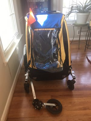 Burley bike stroller with lots of accessories for Sale in Falls Church, VA