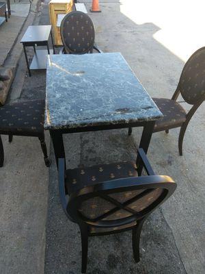 Small Kitchen Set Black Table Set. for Sale in Washington, DC