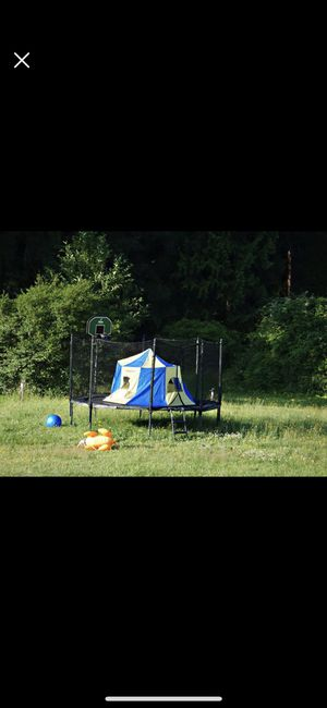 Jump Sport Trampoline Tent!!! Just the tent NOT trampoline lol. for Sale in Gresham, OR
