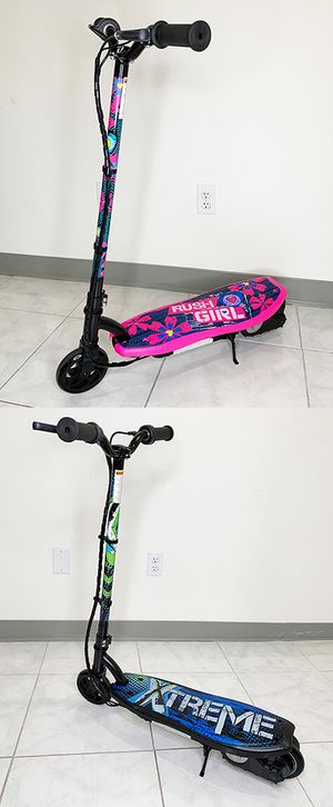 "$70 NEW Kids Teens Electric Scooter Hand Brake Kick Stand Rechargeable Battery (29x8x35"") for Sale in Montebello, CA"