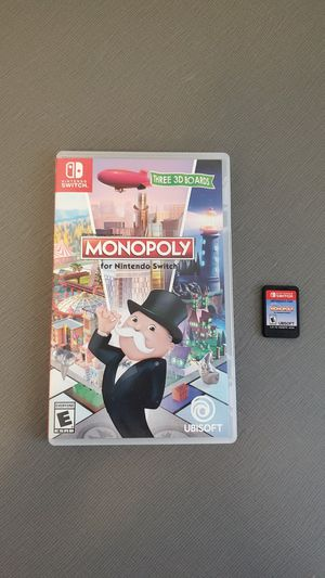 Monopoly for the Nintendo Switch for Sale in Indianapolis, IN