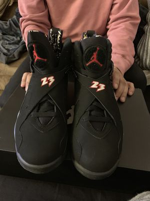 Jordan 8 retro black/red/white size 9 for Sale in Fairfax, VA
