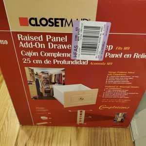 New Closetmaid Add On Drawer for Sale in Norwalk, CT